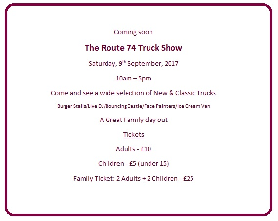 Route74 Truck Show Sept 2017